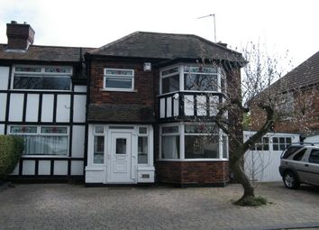 Thumbnail 2 bed semi-detached house to rent in Old Farm Road, Birmingham