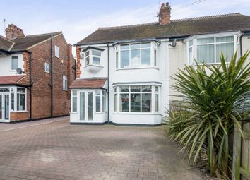 Thumbnail 4 bed semi-detached house for sale in Bellfield Avenue, Hull