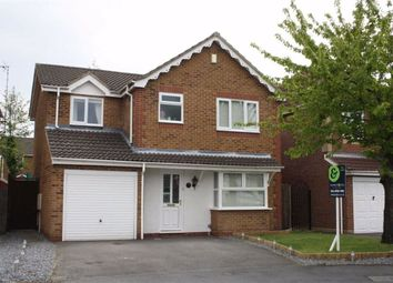 Thumbnail 4 bed detached house for sale in Utah Close, Glenfield, Leicester