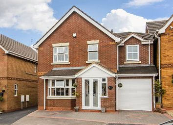 Thumbnail 5 bed detached house for sale in Watermint Close, Hednesford, Cannock