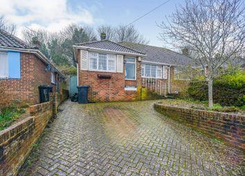 Elvin Crescent, Rottingdean, Brighton BN2. 3 bed semi-detached bungalow for sale