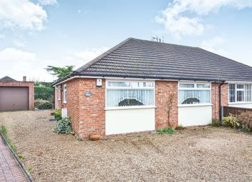 Thumbnail 2 bedroom semi-detached bungalow for sale in Tiercel Avenue, Sprowston, Norwich