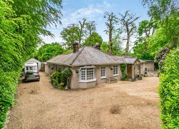 Thumbnail 4 bedroom detached bungalow for sale in Effingham Lane, Copthorne, Crawley, West Sussex