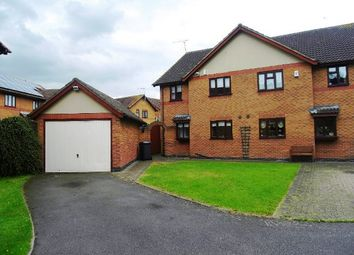 Thumbnail 4 bedroom semi-detached house to rent in Pinewood Close, Anstey Heights, Leicester