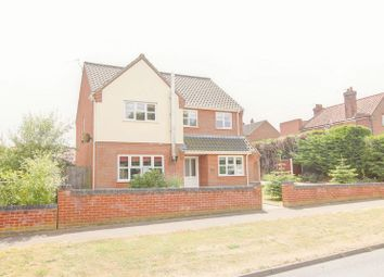 Thumbnail 4 bed detached house for sale in The Street, Hockering, Dereham