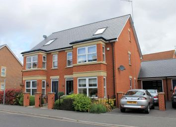 Thumbnail 4 bed semi-detached house for sale in Oxford Road, Horsham