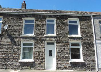 Thumbnail 4 bed terraced house to rent in Court Colman Street, Nantymoel, Bridgend.