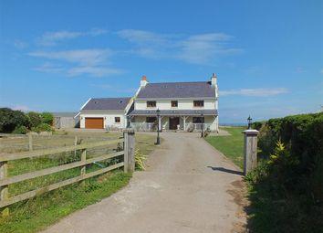 Thumbnail 5 bed farmhouse for sale in Seafield Farm, Bollyn Road, Ballaugh