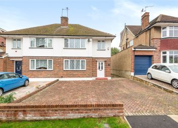 Thumbnail 3 bed semi-detached house for sale in Tolcarne Drive, Pinner, Middlesex