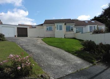 Thumbnail 3 bed semi-detached bungalow to rent in Anthony Close, Poughill, Bude, Cornwall