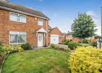 Thumbnail 3 bedroom semi-detached house for sale in Castellan Rise, Bestwood, Nottingham