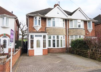 Thumbnail 3 bed semi-detached house for sale in Rock Road, Solihull