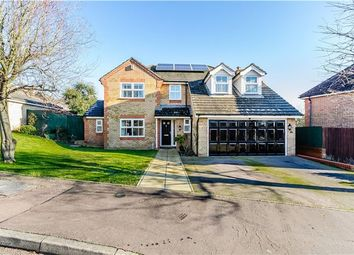 Thumbnail 5 bed detached house for sale in Orchard Way, Haddenham, Ely