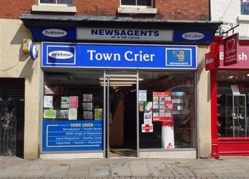 Thumbnail Retail premises for sale in Leek, Staffordshire