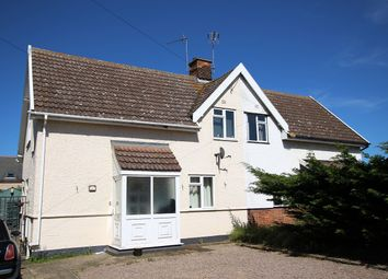 Thumbnail 3 bed semi-detached house for sale in Station Road, Claydon, Ipswich, Suffolk