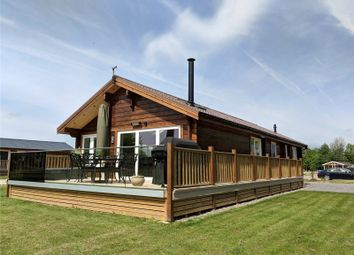 Thumbnail 2 bed bungalow for sale in Lake View, Frisby Lakes Lodge Park, Hoby Road