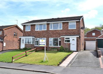 Thumbnail 3 bed semi-detached house for sale in Stephens Way, Bignall End