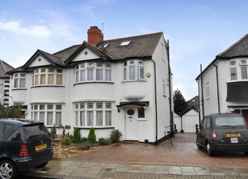 Thumbnail 4 bed semi-detached house for sale in Tithe Close, London