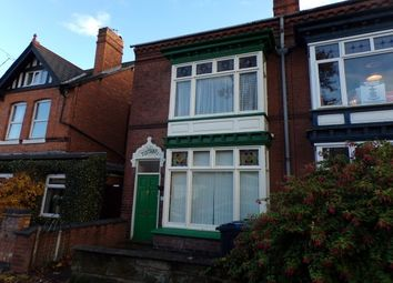 Thumbnail 4 bed end terrace house to rent in Mary Vale Road, Bournville, Birmingham