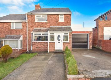 Thumbnail 3 bed semi-detached house for sale in Hillgarth, Consett