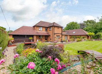 Thumbnail 4 bed detached house for sale in Warren Lodge, Scothern Lane, Dunholme