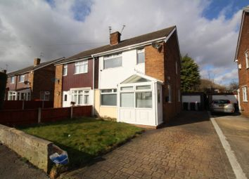 Thumbnail 3 bed semi-detached house for sale in The Oval, North Anston, Sheffield, South Yorkshire