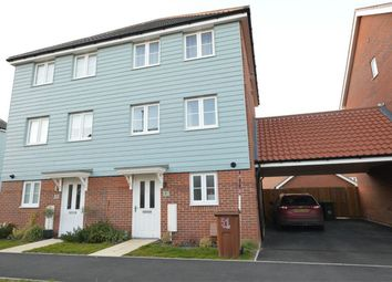 Thumbnail 3 bed semi-detached house for sale in Almond Drive, Cringleford, Norwich, Norwich, United Kingdom