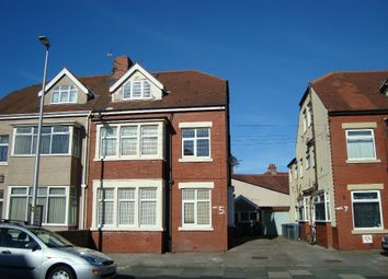 Thumbnail 1 bed flat to rent in Luton Road, Thornton-Cleveleys