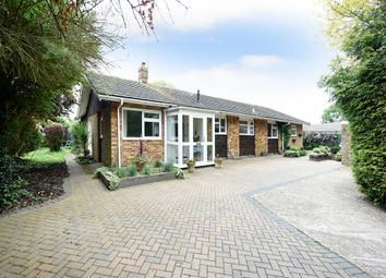 Thumbnail 4 bed detached bungalow for sale in Yapton Road, Climping, Littlehampton