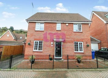 Thumbnail 4 bed detached house for sale in Frobisher Gardens, Chafford Hundred, Grays
