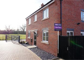Thumbnail 3 bed detached house for sale in Howden Close, Bagworth