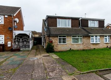 Thumbnail 4 bedroom semi-detached bungalow for sale in Friesland Drive, Danehurst Estate, Wolverhampton, West Midlands