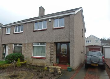 Thumbnail 3 bed semi-detached house for sale in Abbey Place, Monks Estate, Airdrie, North Lanarkshire