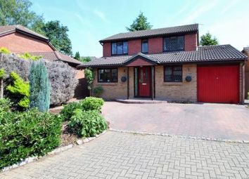 Thumbnail 4 bed detached house for sale in Cheylesmore Drive, Frimley