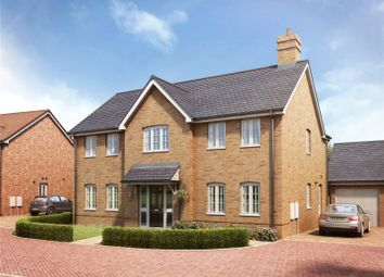Thumbnail 4 bed detached house for sale in Round House Gate, Cringleford, Norwich, Norfolk