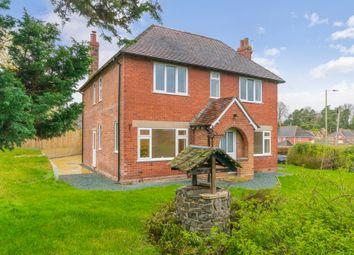Thumbnail 4 bed detached house for sale in Montford Bridge, Shrewsbury