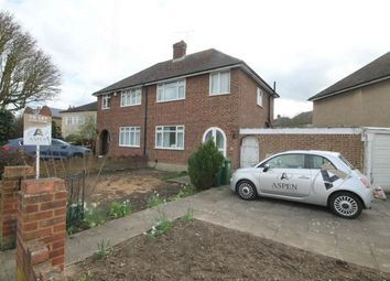 Thumbnail 3 bedroom semi-detached house to rent in Feltham Hill Road, Ashford, Surrey