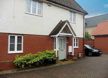 Thumbnail 2 bedroom end terrace house to rent in Woodlark Drive, Stowmarket