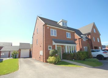 Thumbnail 4 bed detached house for sale in Great Tithes Place, Crewe