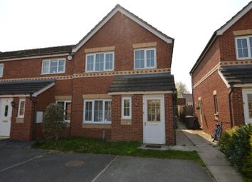 Thumbnail 3 bed town house for sale in Parsley Mews, Methley, Leeds, West Yorkshire