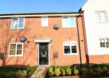 Thumbnail 3 bedroom terraced house for sale in Ash Close, Dereham