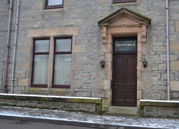 Thumbnail 2 bedroom flat to rent in Flat 3 Hayfield, James Street, Lossiemouth