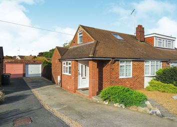 Thumbnail 1 bed semi-detached bungalow for sale in Chapterhouse Road, Luton