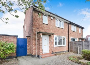 Thumbnail 2 bed semi-detached house to rent in Thoresby Road, York