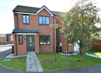 Thumbnail 3 bed detached house for sale in Lynas Place, Evenwood, Bishop Auckland