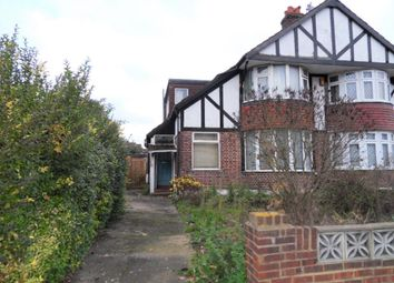 Thumbnail 3 bed semi-detached house for sale in Noble Corner, Great West Road, Hounslow