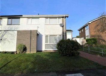Thumbnail 3 bed semi-detached house for sale in Ffordd Rhiannon, Llanfairpwll, Llanfairpwll