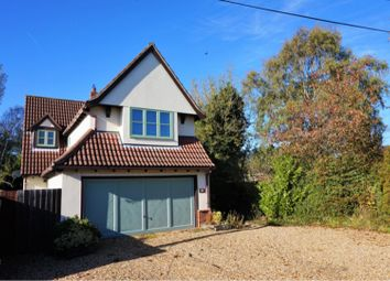 Thumbnail 5 bed detached house for sale in West Drive, Caldecote, Cambridge