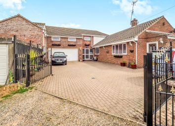 Thumbnail 6 bed detached house for sale in Millstone House, Walcott Road, Bacton, Norwich, Norfolk
