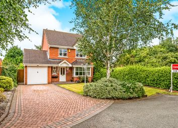 Thumbnail 4 bed detached house for sale in Milne Avenue, Fradley, Lichfield